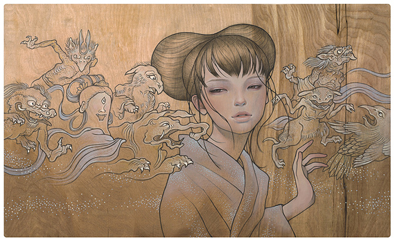 art blog - Audrey Kawasaki - empty kingdom