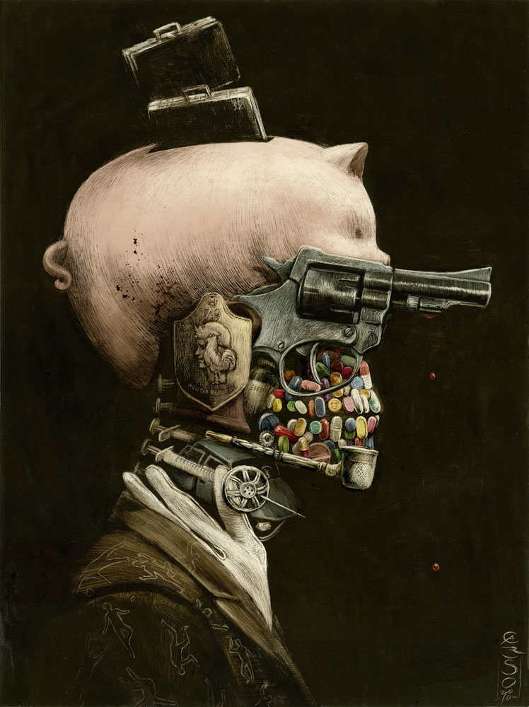 art blog - santiago caruso - empty kingdom