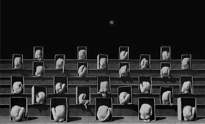 Nude ý niệm của nhiếp ảnh gia Misha Gordin
