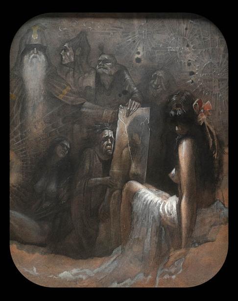 art blog - Dmitry Ligay - empty kingdom