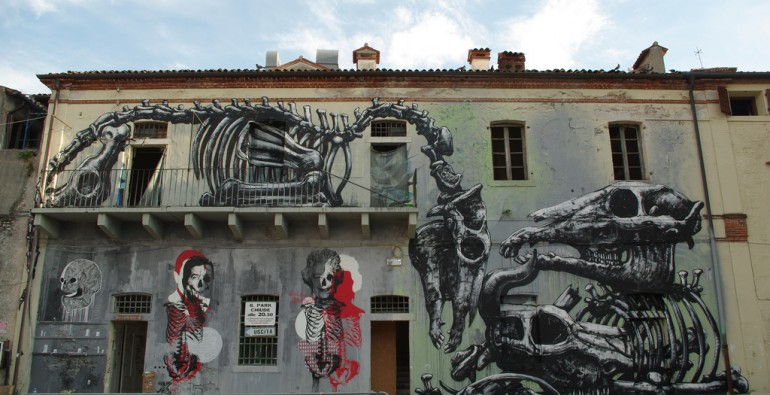 art blog - ROA - Empty Kingdom