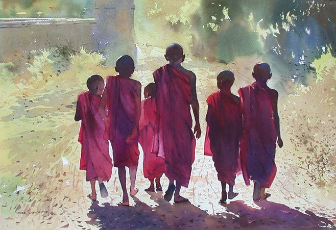 art blog - Myoe Win Aung - empty kingdom