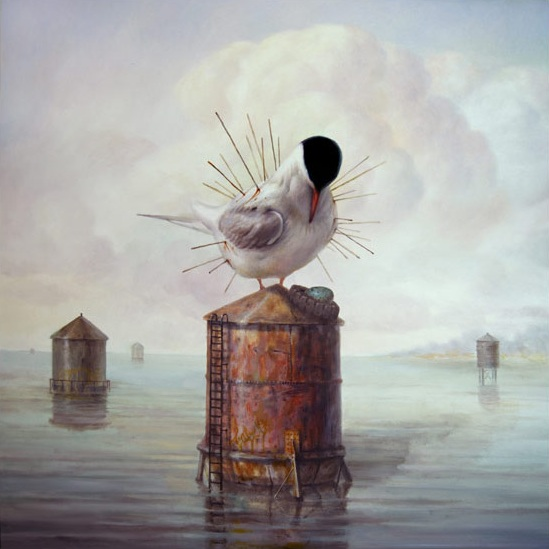 art blog - Martin Wittfooth - Empty Kingdom