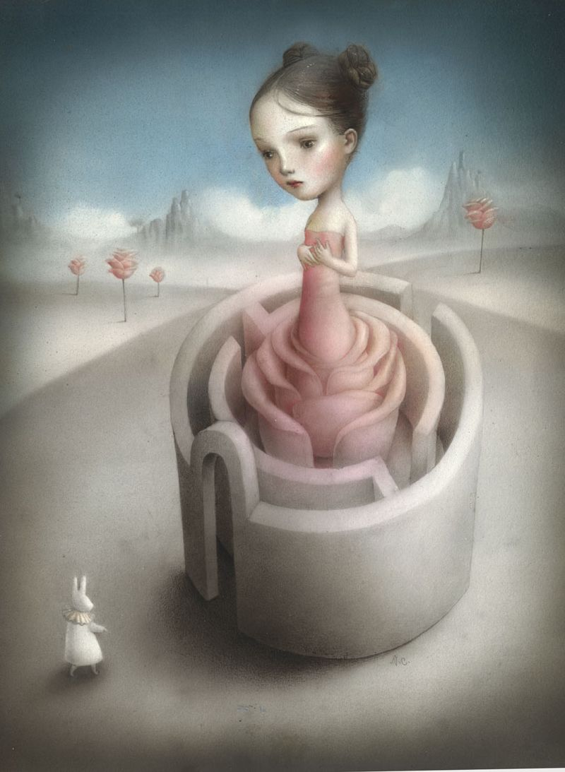 art blog - Nicoletta Ceccoli - Empty Kingdom