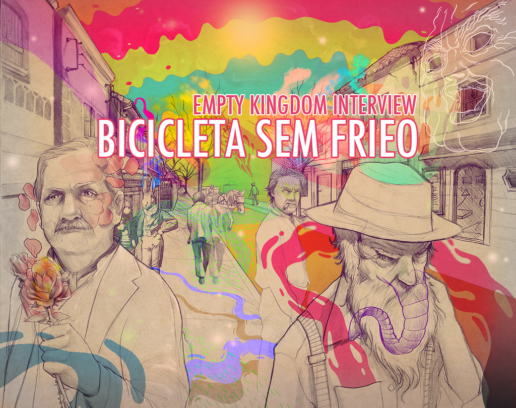 art blog - Bicicleta Sem Frieo - empty kingdom