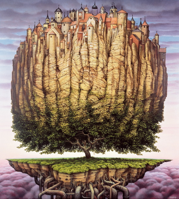 art blog - Jacek Yerka - empty kingdom