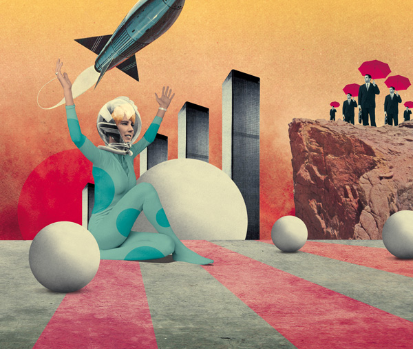 art blog - Julien Pacaud - empty kingdom