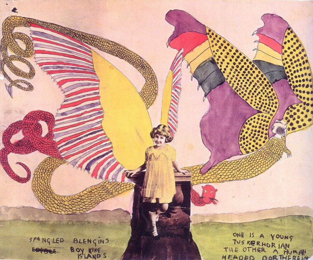 Henry-Darger- empty kingdom collage girl blengin