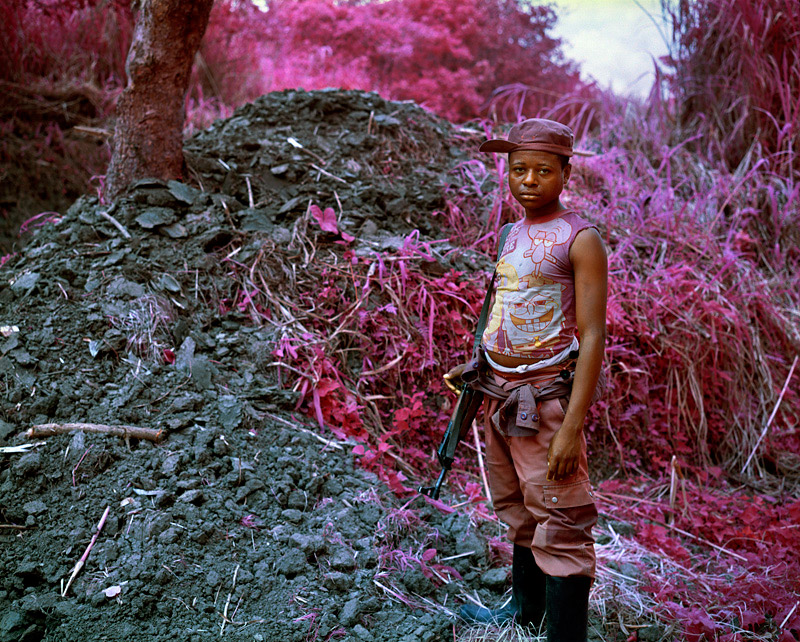 art blog - Richard Mosse - empty kingdom