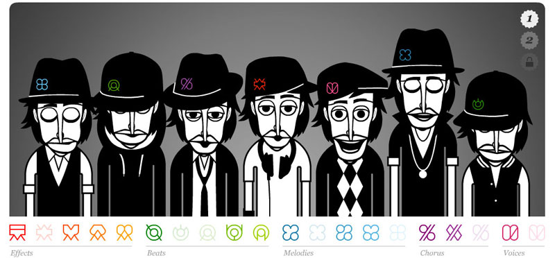 art blog - INCREDIBOX - empty kingdom