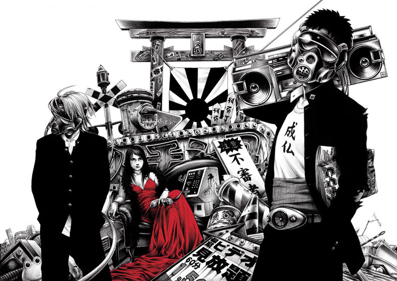 art blog - Shohei Otomo - empty kingdom