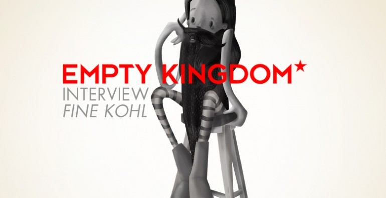 art blog - Fine Kohl - Empty Kingdom