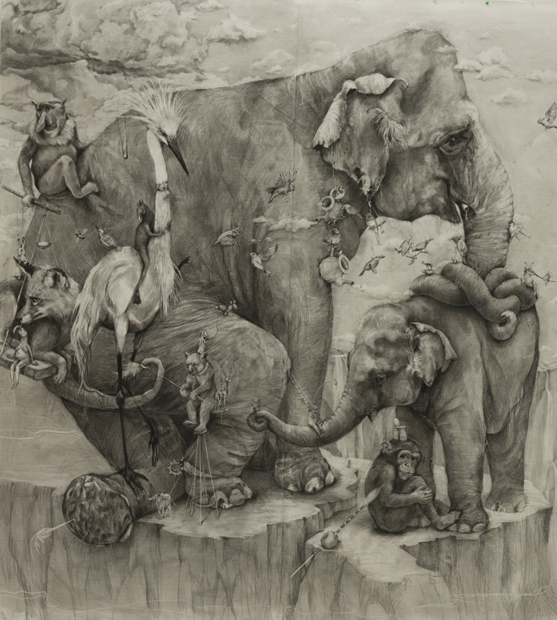 art blog - Adonna Khare - empty kingdom
