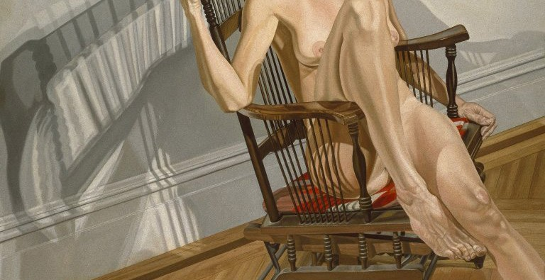 art blog - Philip Pearlstein - empty kingdom
