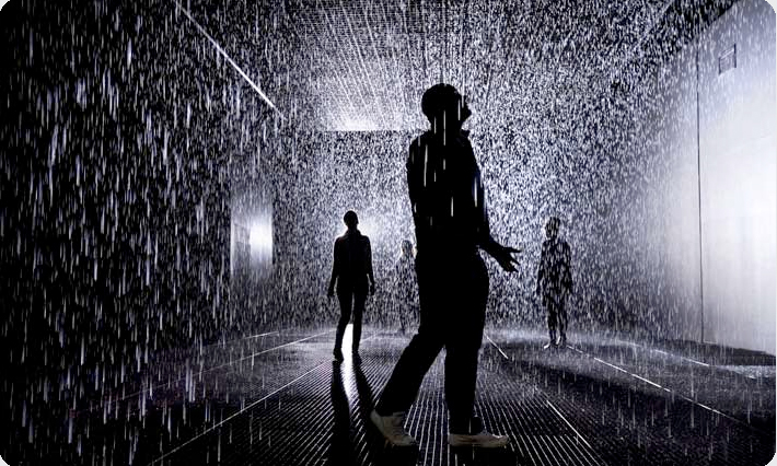 Art Blog - Rain Room - Empty Kingdom