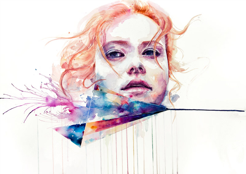 art blog - Agnes Cecile - empty kingdom
