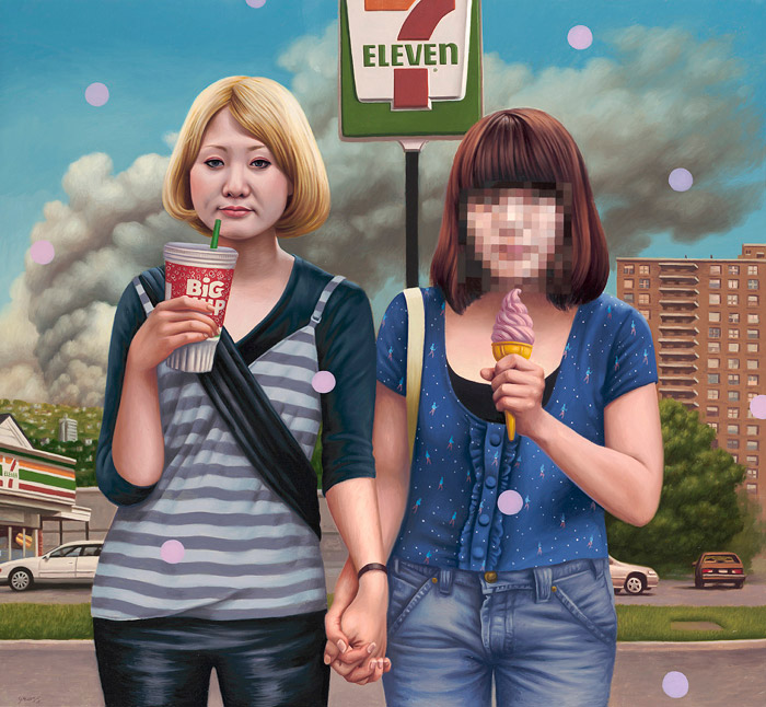 art blog - Alex Gross - empty kingdom