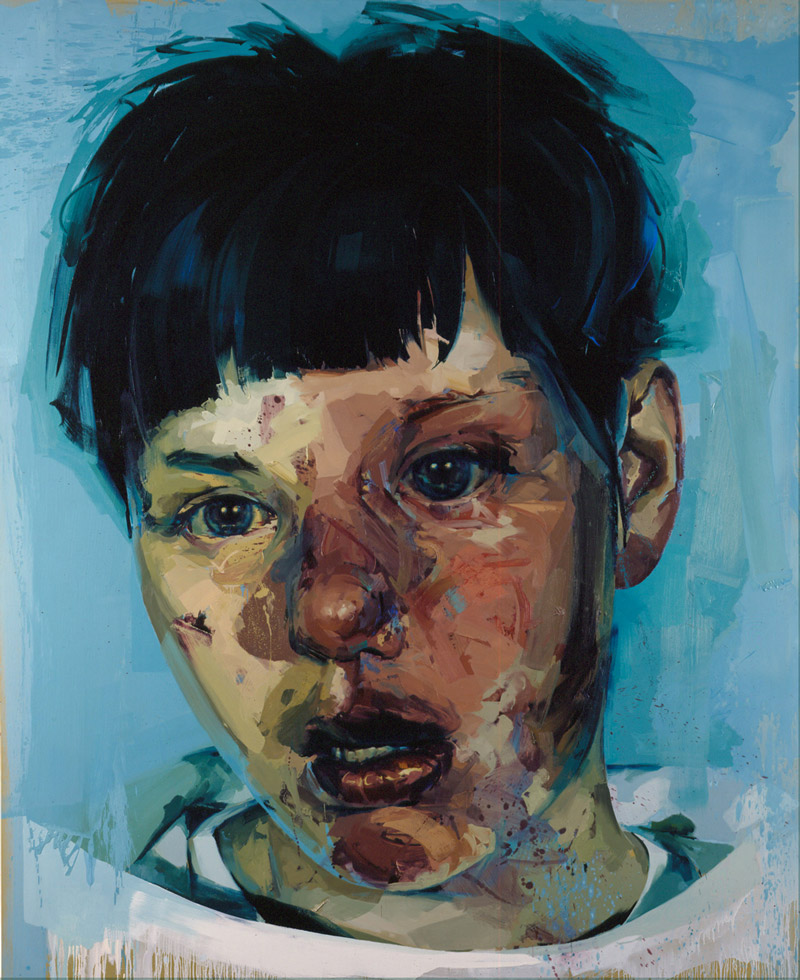 art blog - Jenny Saville - empty kingdom