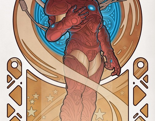 IronMan_by_Design__Art_Nouveau_by_johntylerchristopher