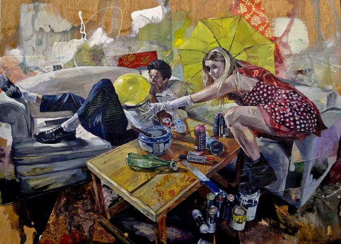 art blog - Andrew Young - empty kingdom