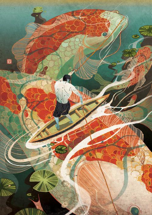 art blog - Victo Ngai - empty kingdom