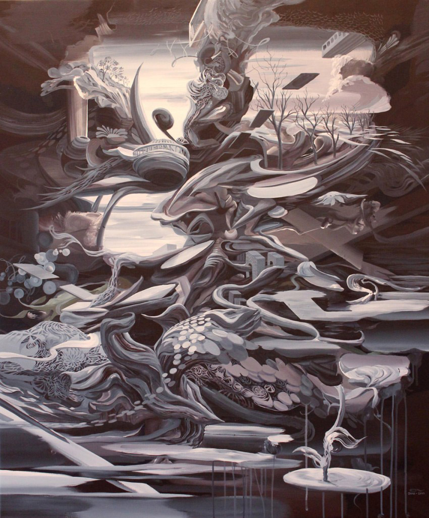 Oliver Vernon, Painting, 2013