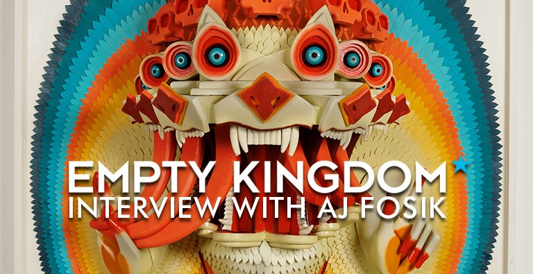 AJ FOSIK - EMPTY KINGDOM - ART BLOG - INTERVIEW