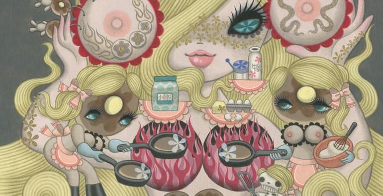 junko mizuno - empty kingdom - art blog