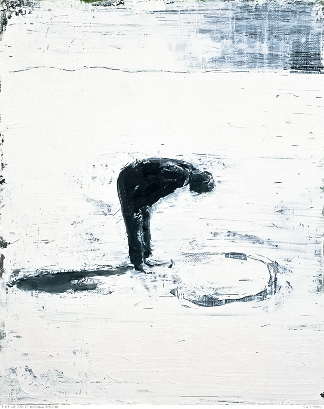 The Break; 2004; Oil on Canvas; 40x30cm