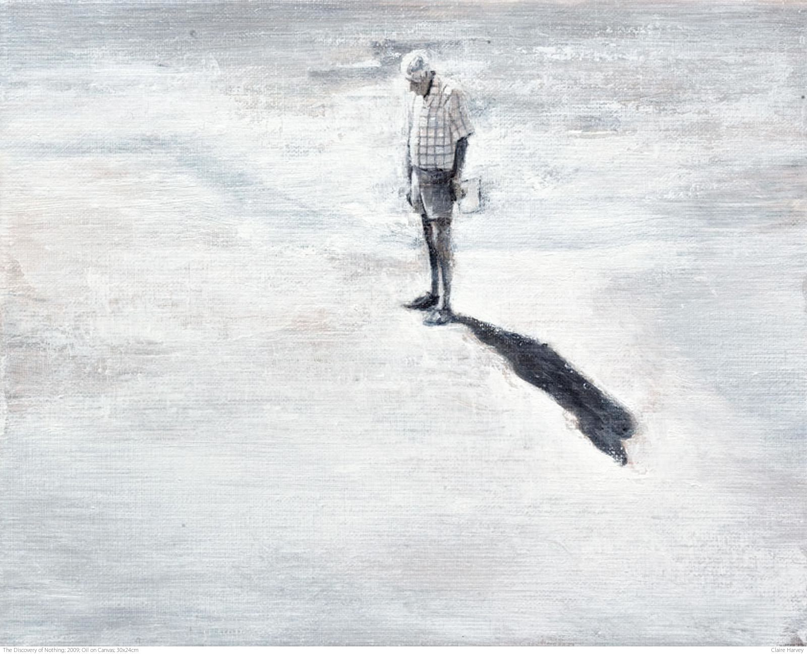 The Discovery of Nothing; 2009; Oil on Canvas; 30x24cm