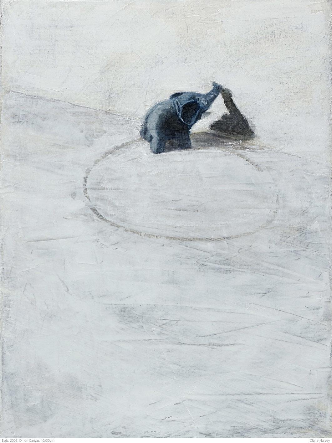 Epic; 2005; Oil on Canvas; 40x30cm