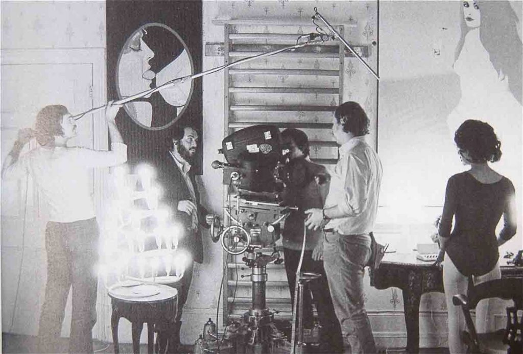 Kubrick-filming-Clockwork